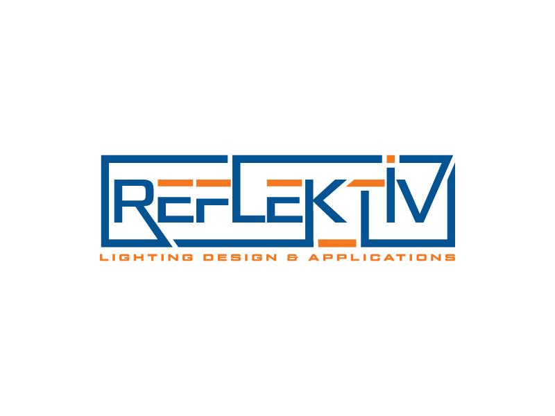 REFLEKTIV Lighting Design & Applications logo design by Erasedink