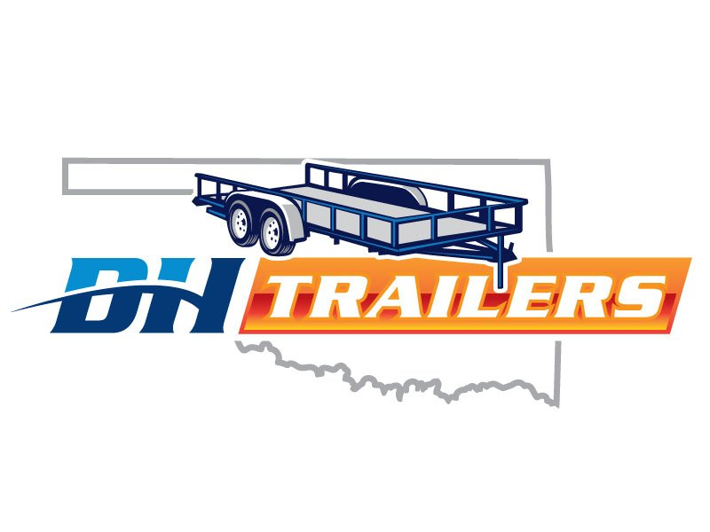 DH TRAILERS Logo Design