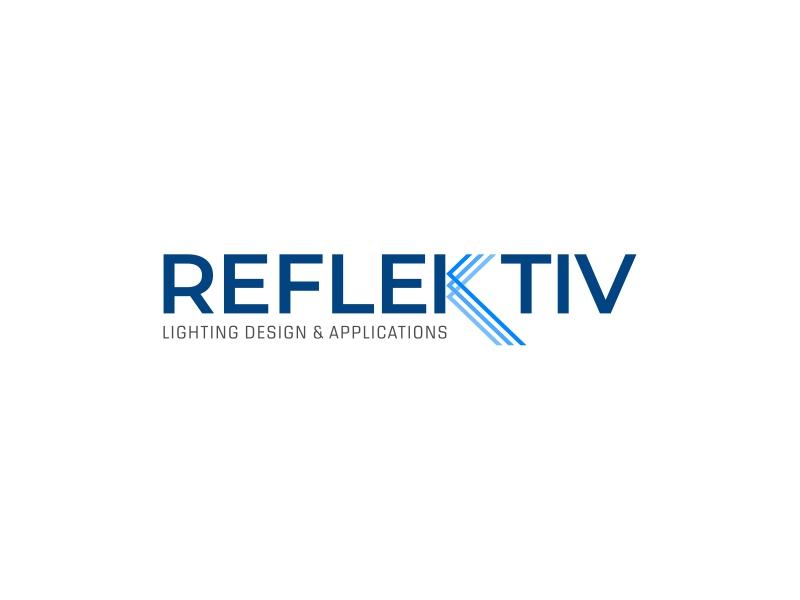 REFLEKTIV Lighting Design & Applications logo design by mutafailan