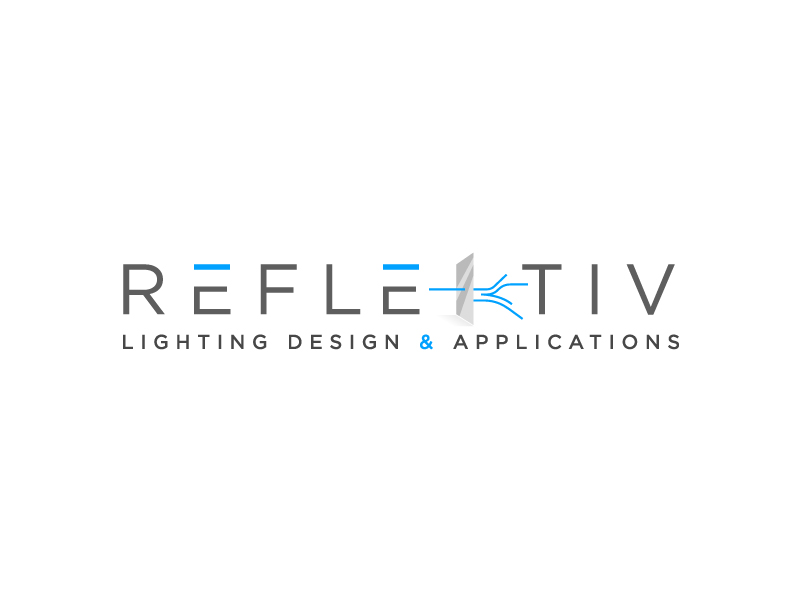 REFLEKTIV Lighting Design & Applications logo design by aRBy
