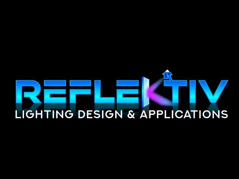 REFLEKTIV Lighting Design & Applications logo design by jaize