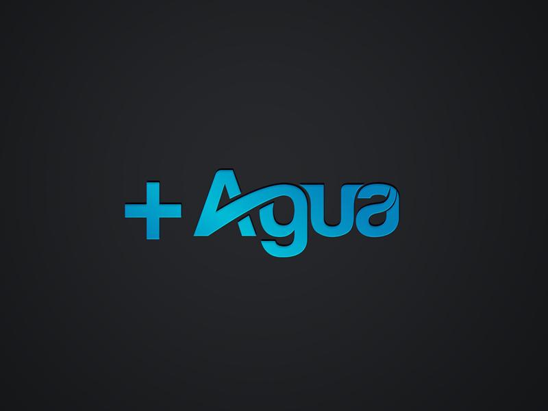+ Agua logo design by sarathchandran