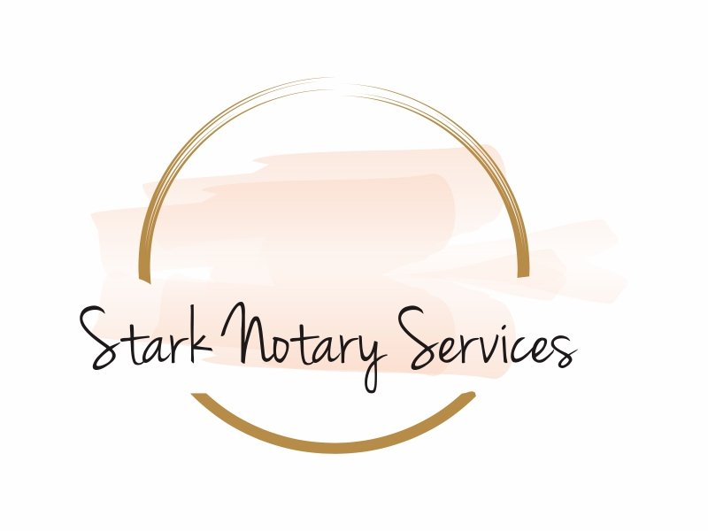 Stark Notary Services logo design by Greenlight