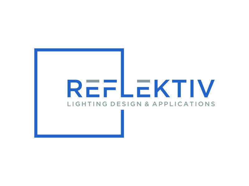 REFLEKTIV Lighting Design & Applications logo design by mukleyRx