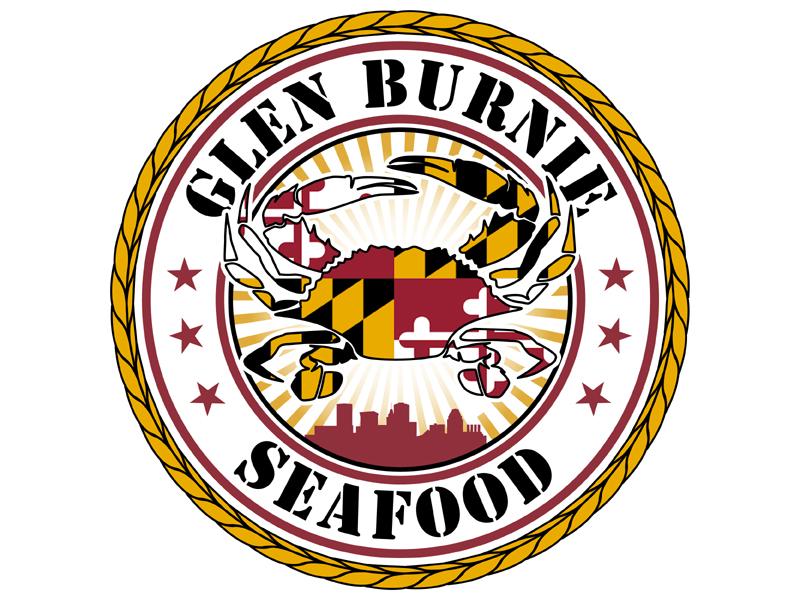 Glen Burnie Seafood logo design by MAXR