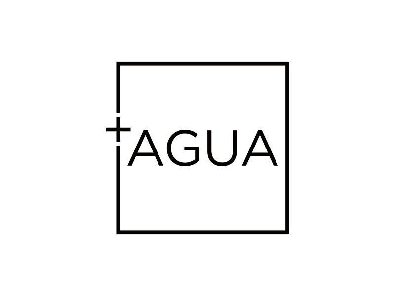 + Agua logo design by blessings