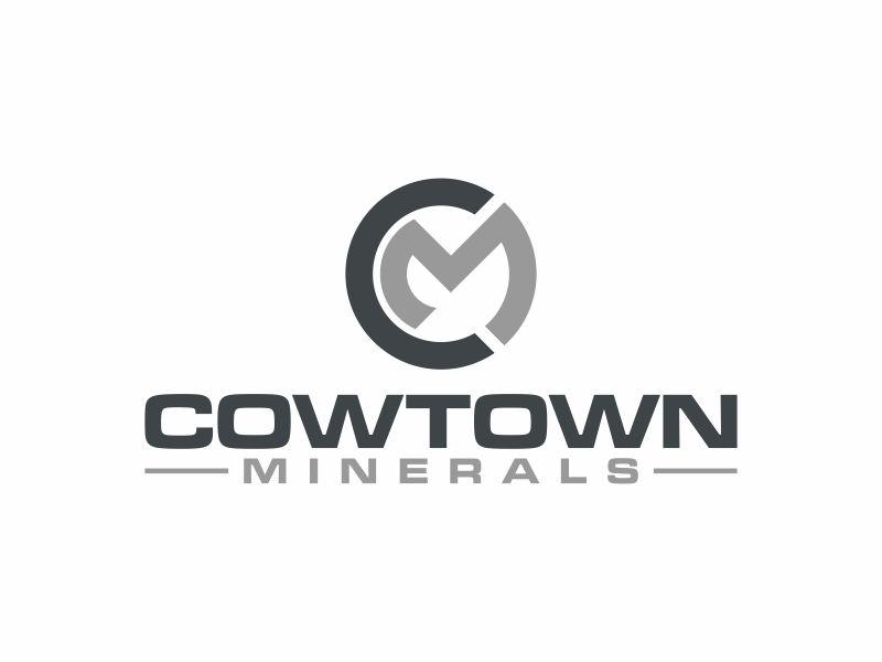 Cowtown Minerals logo design by josephira