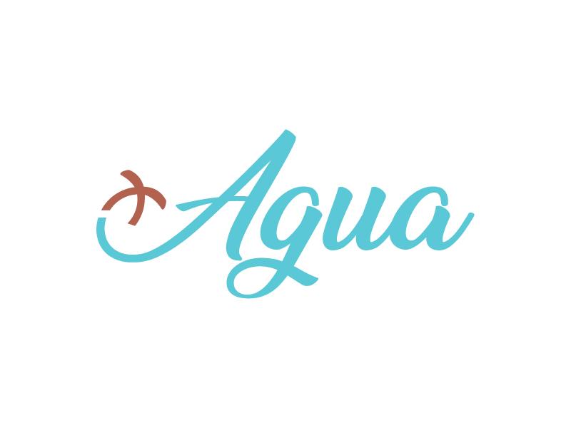 + Agua logo design by Shailesh