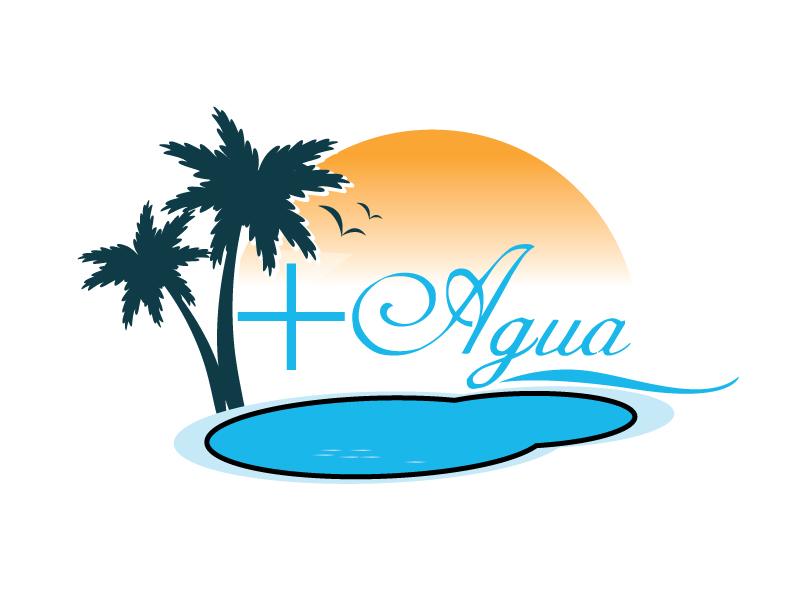 + Agua logo design by webmall