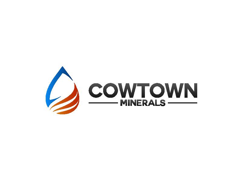 Cowtown Minerals logo design by betapramudya