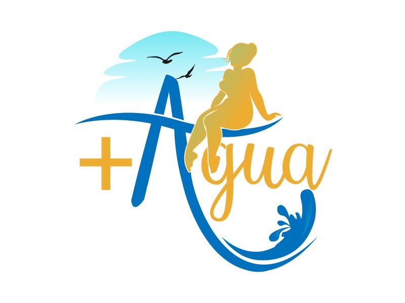 + Agua logo design by drifelm