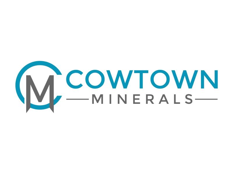 Cowtown Minerals logo design by rgb1