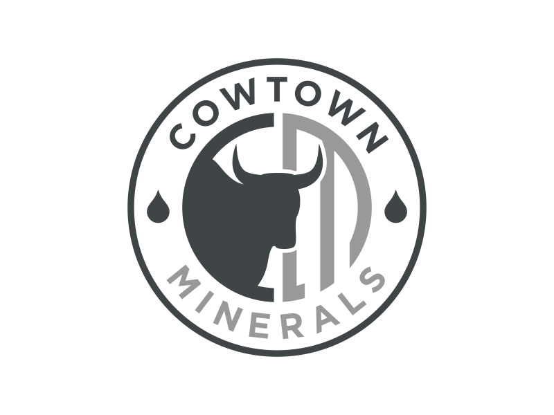 Cowtown Minerals logo design by pionsign