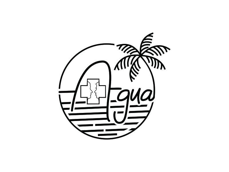 + Agua logo design by Artigsma
