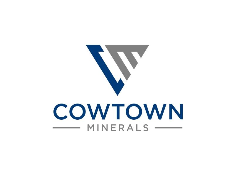 Cowtown Minerals logo design by GassPoll