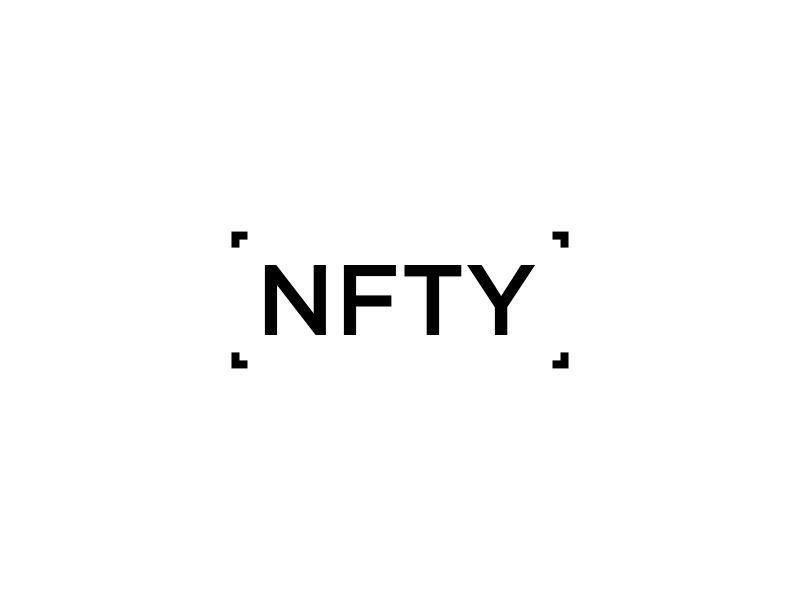 NFTY logo design by p0peye