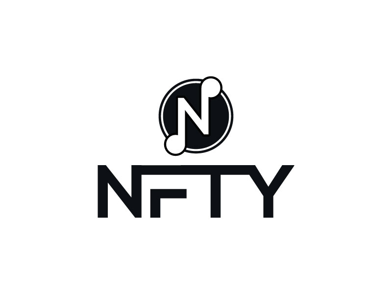 NFTY logo design by aryamaity