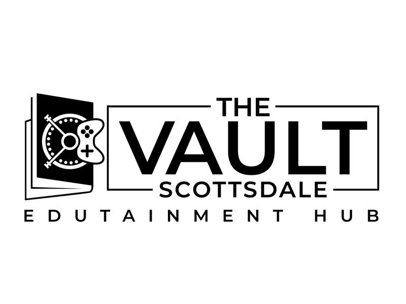The Vault Scottsdale - Edutainment Hub logo design by DreamLogoDesign