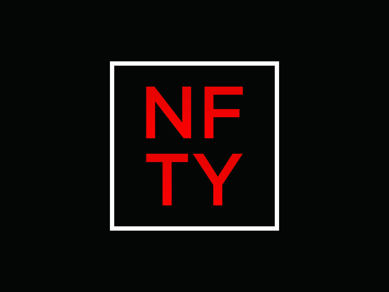 NFTY logo design by puthreeone