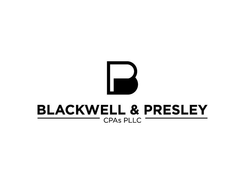 Blackwell & Presley, CPAs PLLC logo design by torresace
