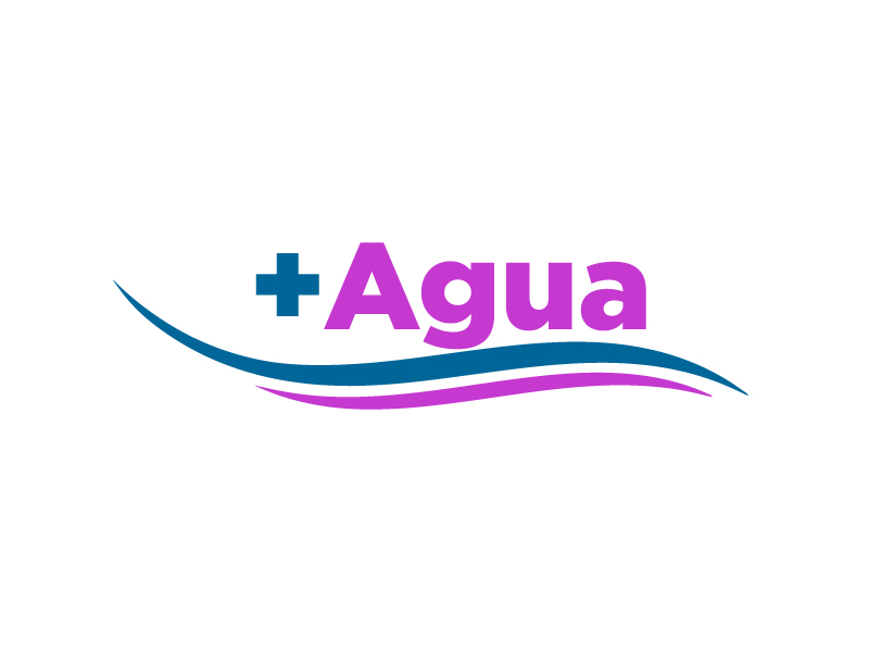 + Agua logo design by Erasedink
