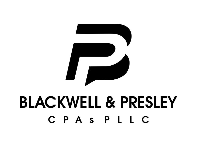 Blackwell & Presley, CPAs PLLC logo design by JessicaLopes