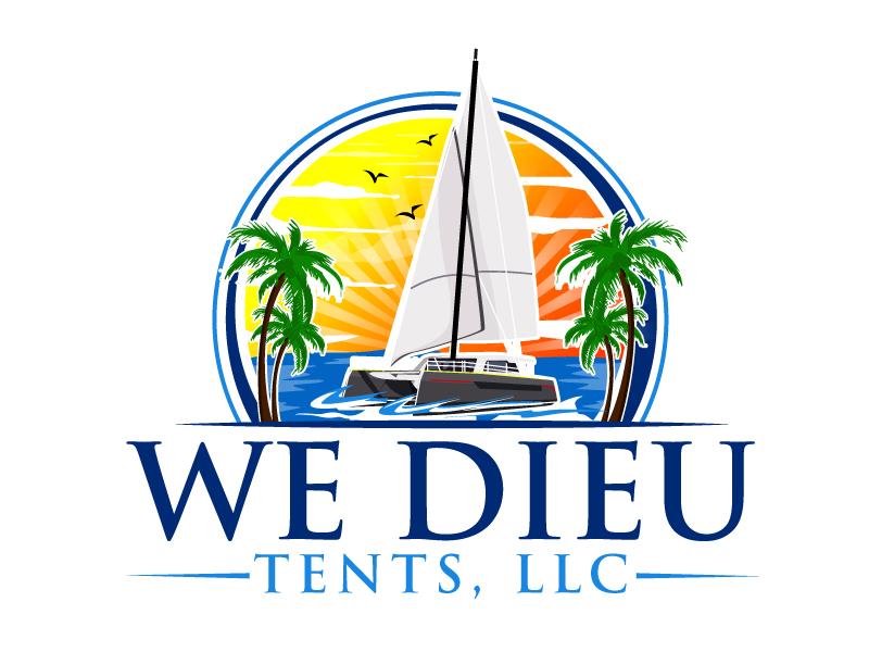 We Dieu Tents, LLC logo design by ElonStark