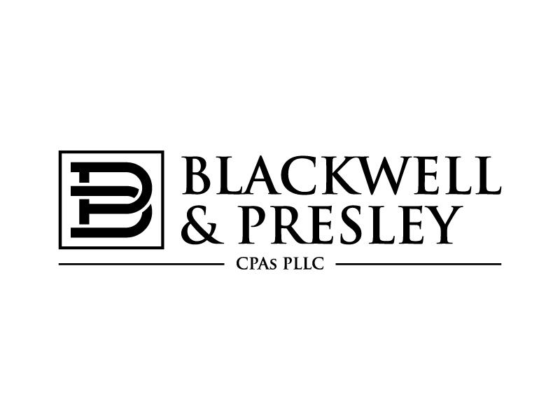 Blackwell & Presley, CPAs PLLC logo design by denfransko