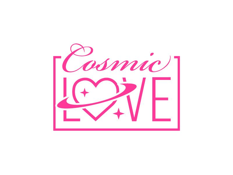Cosmic Love logo design by Foxcody