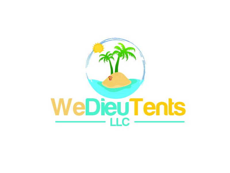 We Dieu Tents, LLC logo design by shravya
