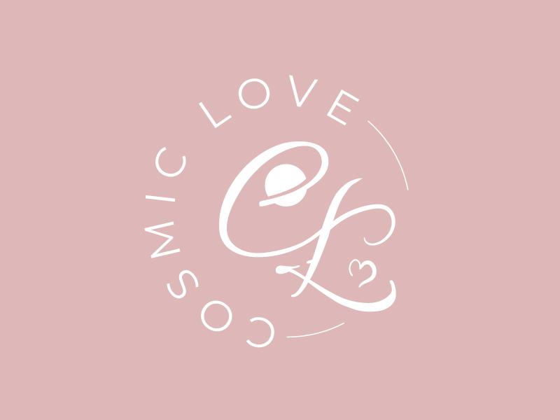 Cosmic Love logo design by il-in