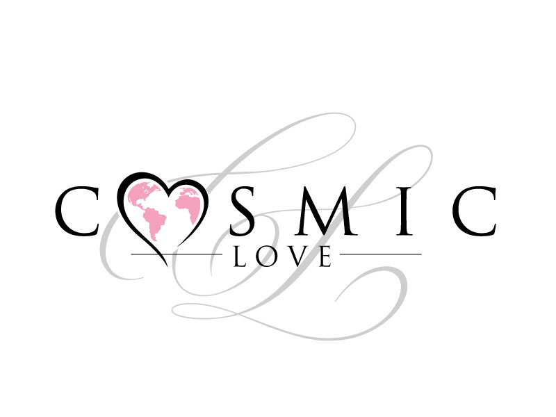 Cosmic Love logo design by REDCROW