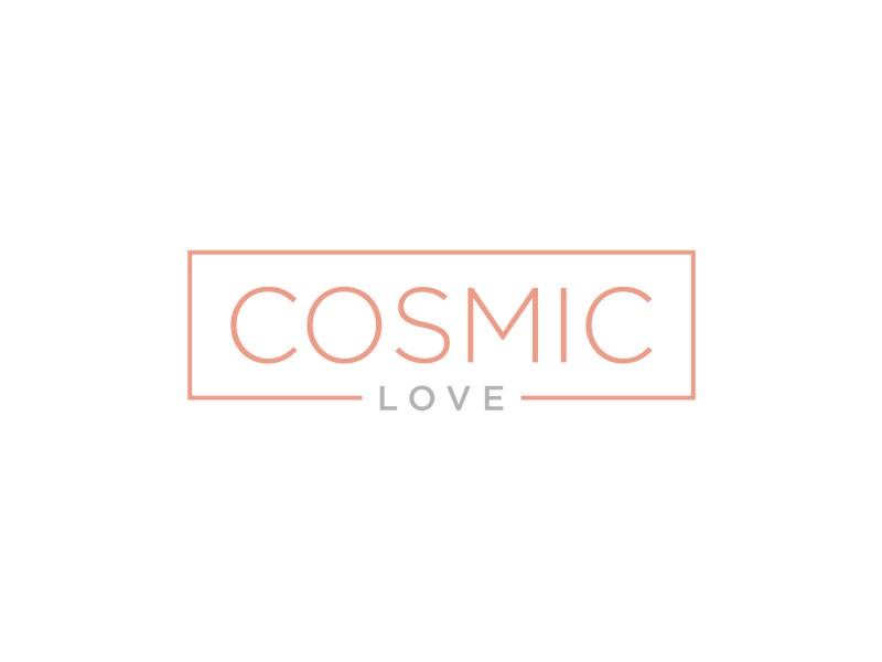 Cosmic Love logo design by Arto moro