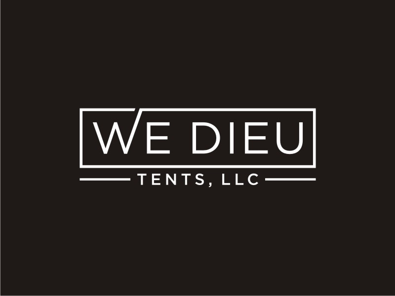 We Dieu Tents, LLC logo design by Arto moro