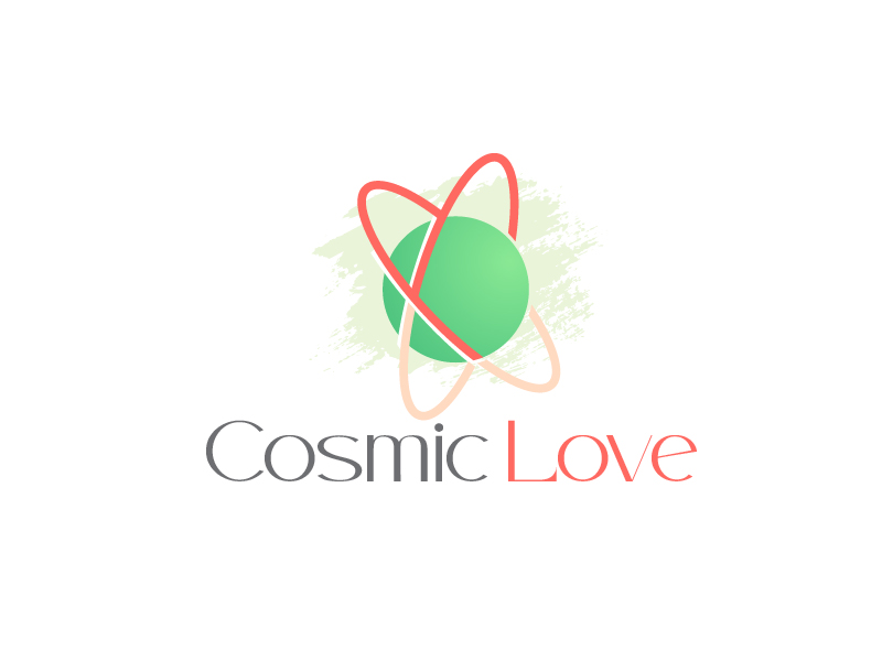 Cosmic Love logo design by usef44
