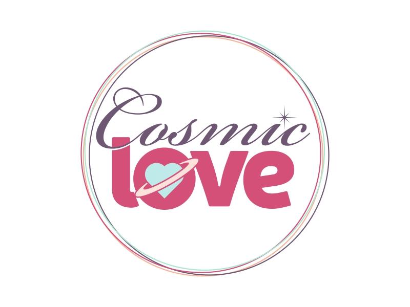 Cosmic Love logo design by ekitessar