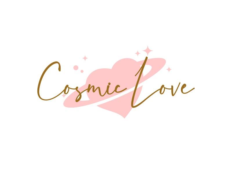 Cosmic Love logo design by gomadesign