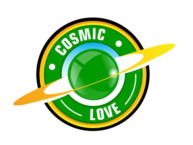 Cosmic Love logo design by ElonStark