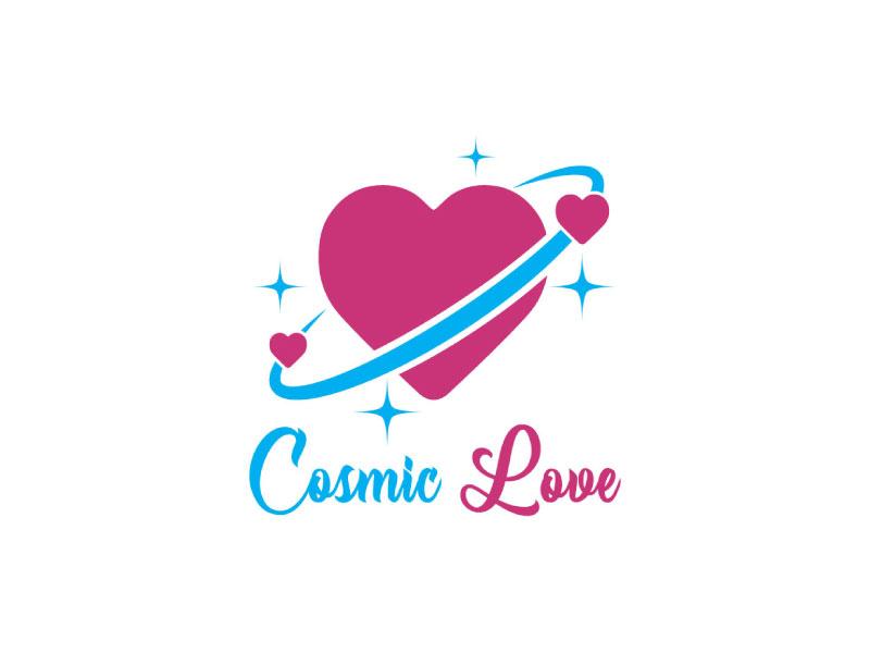 Cosmic Love logo design by nona