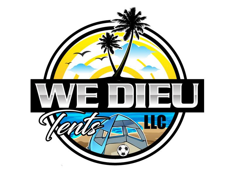 We Dieu Tents, LLC logo design by DreamLogoDesign