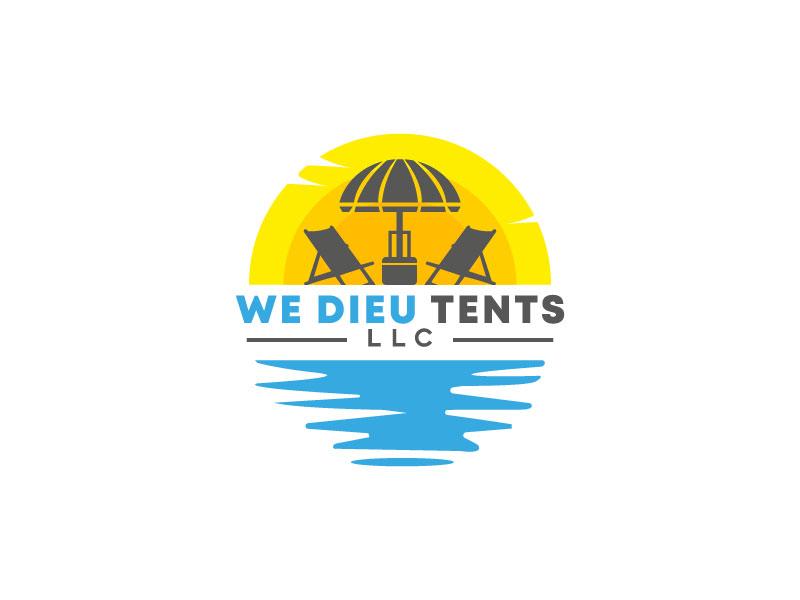 We Dieu Tents, LLC logo design by M Fariid