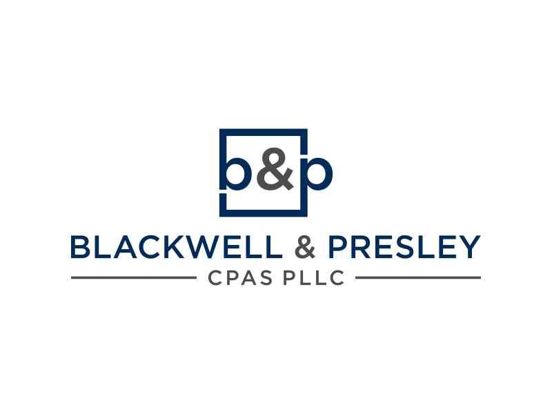 Blackwell & Presley, CPAs PLLC logo design by hashirama