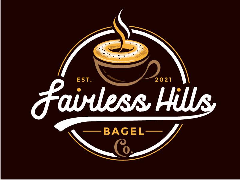 Fairless Hills Bagel Co. Logo Design