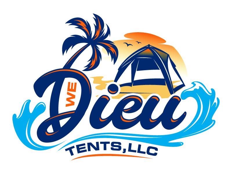 We Dieu Tents, LLC logo design by Suvendu
