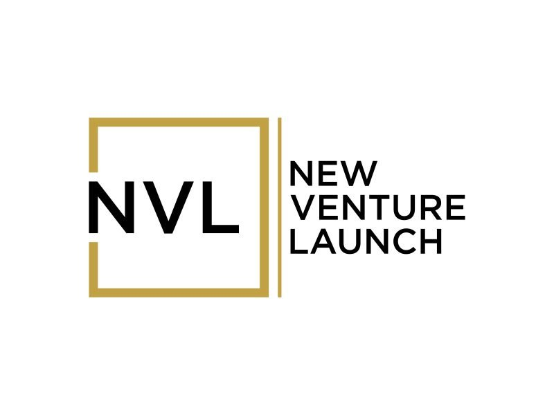 New Venture Launch logo design by p0peye