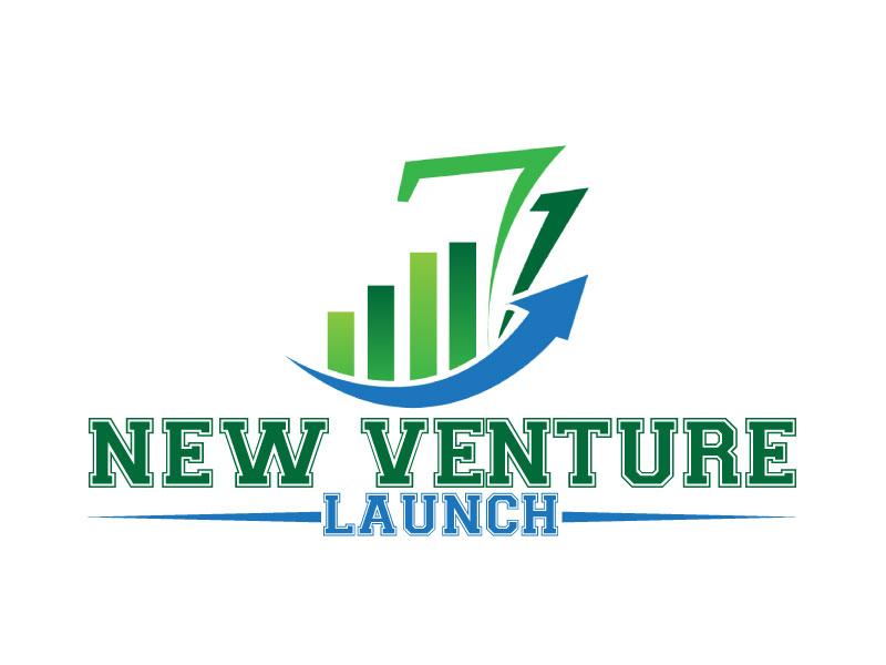 New Venture Launch logo design by ElonStark