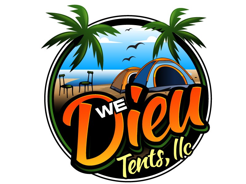We Dieu Tents, LLC logo design by LucidSketch