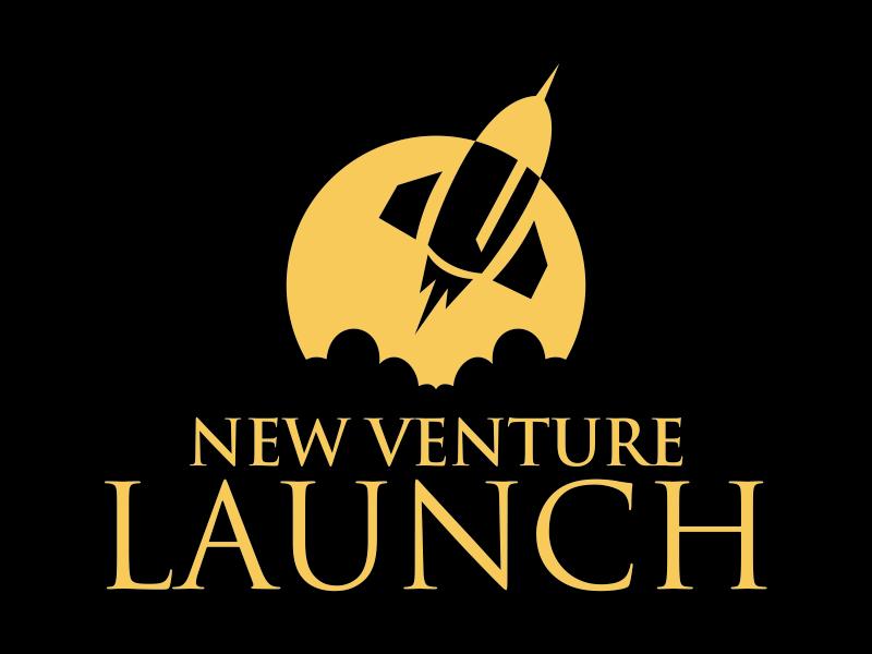 New Venture Launch logo design by cikiyunn