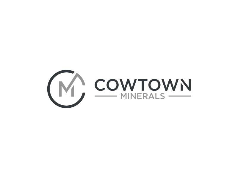 Cowtown Minerals logo design by pel4ngi
