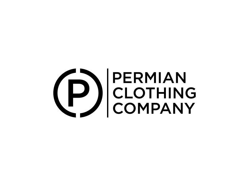 PCC    Permian Clothing Company logo design by p0peye